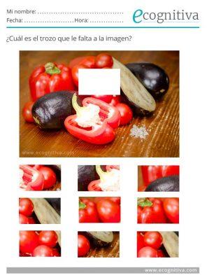ejercicios de atencion con fotos