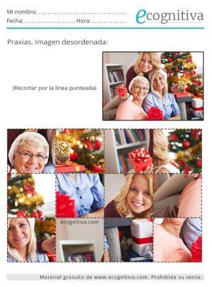 praxias de navidad para mayores
