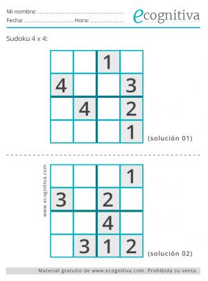 sudoku fáciles