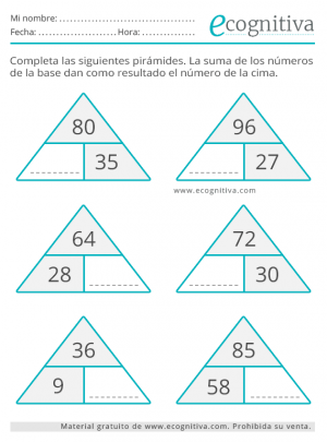 piramide de cálculo