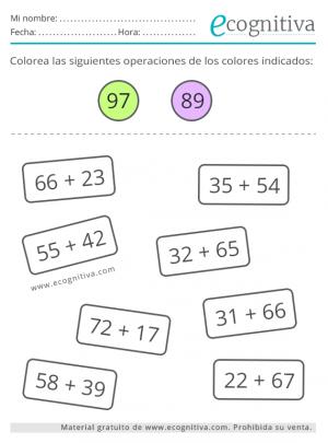ejercicios de estimulacion cognitiva de calculo