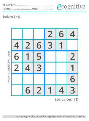 sudokus con solución gratis