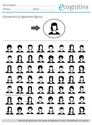 búsqueda visual, ejercicios de atención para mayores