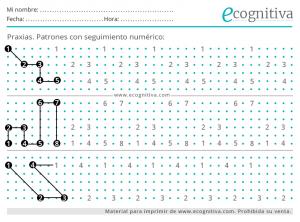 dibujos estimulacion cognitiva patrones