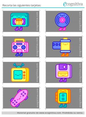 tarjetas de rastreo visual ejercicio 2 C
