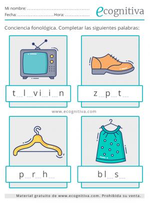 conciencia fonológica para adultos mayores