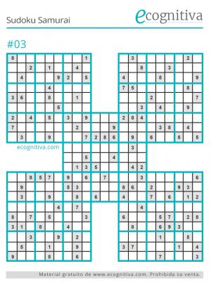 imprimir sudoku samurai