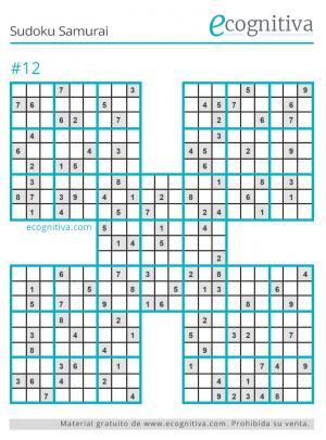 libro samurai sudoku gratis