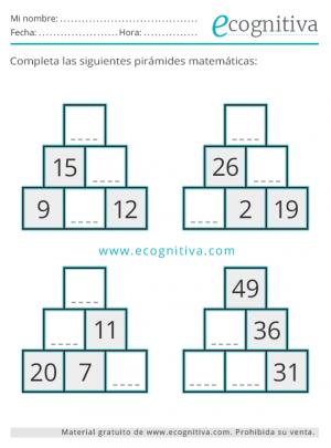pirámides fáciles