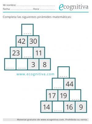 pirámides para mayores