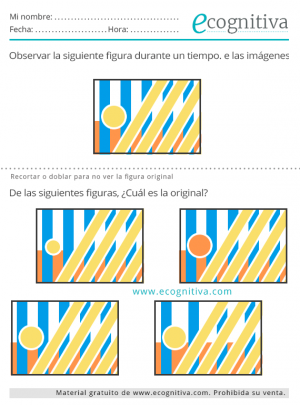 ejercicios cognitivos con figuras