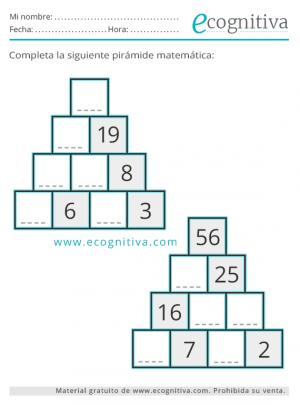 pirámides de cálculo