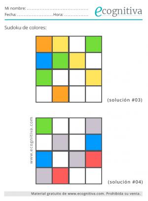 colorear sudokus