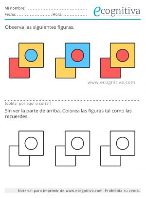 colores de memoria para el deterioro cognitivo