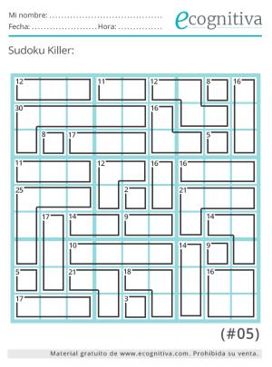 imprimir sudoku killer