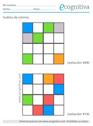 imprimir sudokus de colorr