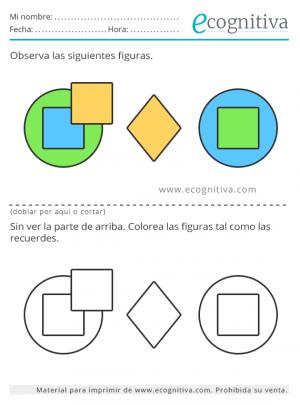 memoria y colores para imprimir