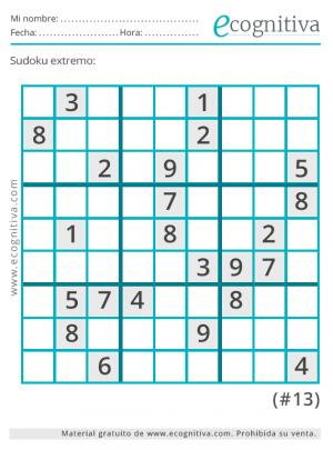 sudoku diabolico