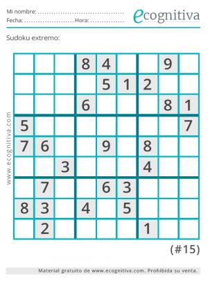sudoku diabolico con solucion