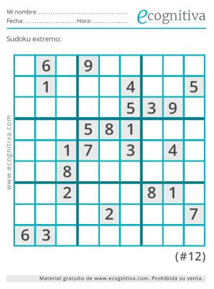 sudoku dificil experto