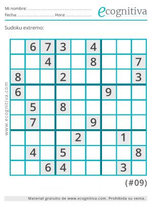 sudoku expertos