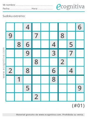 sudoku extremo