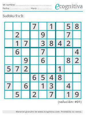 sudoku imprimir junio 21