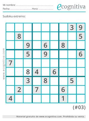 sudoku muy difícil