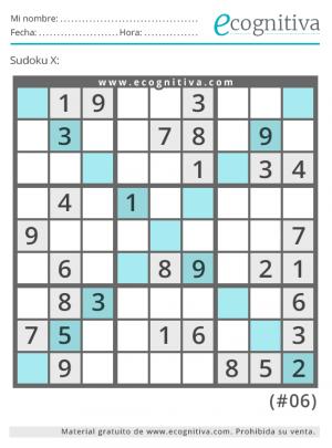 variante x sudoku