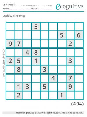 xtrema sudoku