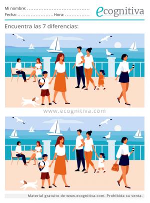 7 diferencias verano