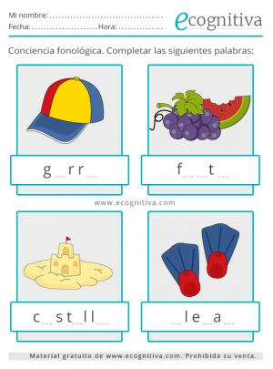 conciencia fonologica verano