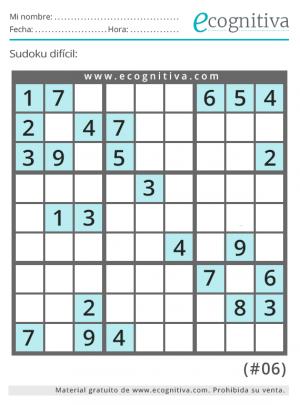 imprimir sudoku dificil