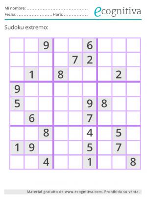 julio 2021 sudoku
