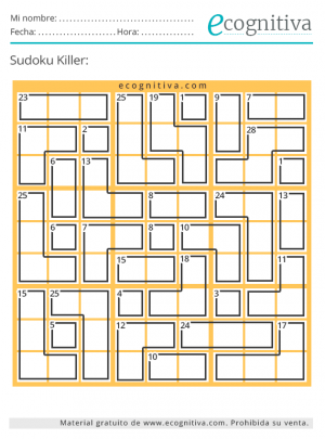 killer sudoku julio21