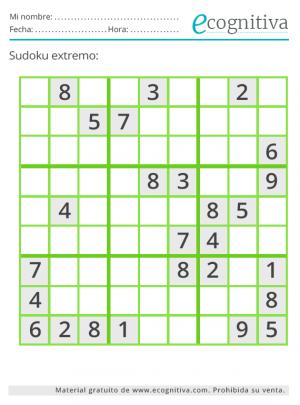 sudoku extremo julio 21