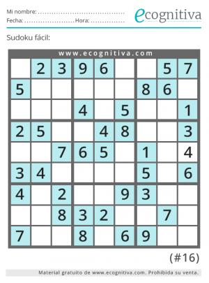 sudoku fácil gratis