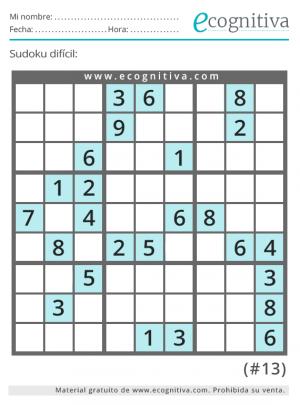 sudoku gratis dificil
