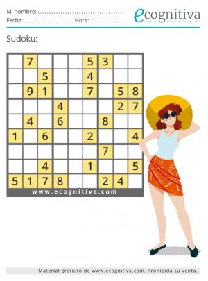 sudoku de verano