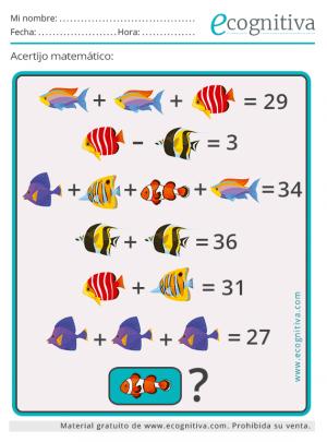 acertijo enigma matematico