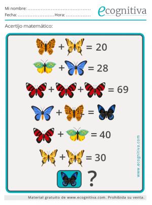 acertijos matematicos gratis