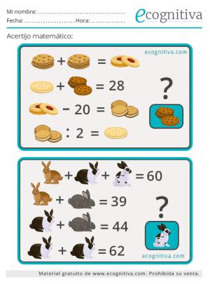 logica acertijos matematicos
