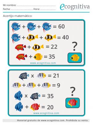 lógica y enigmas matematicos