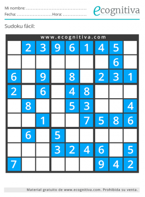 sudoku agosto 2021