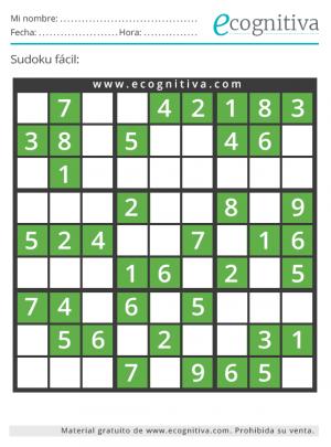 sudoku facil agosto 21