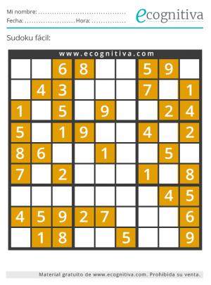 sudoku para imprimir fácil agosto 21