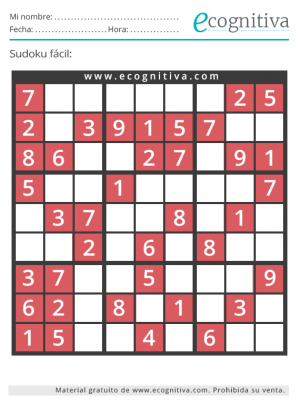 sudoku muy facil agosto 21