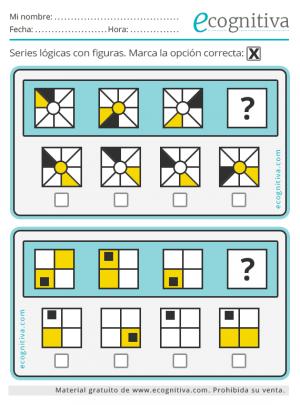 juegos de lógica para imprimir