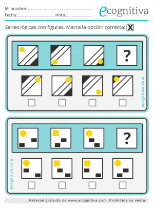 resolver series lógicas