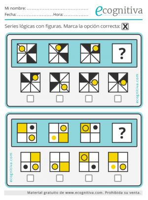 series logicas con figuras